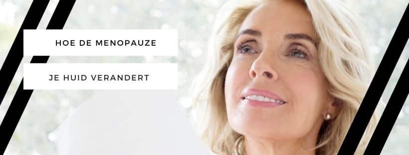 menopauze huid